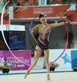 Son Yeon-jae wins silver in ribbon