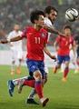 S. Korean football player at Universiade