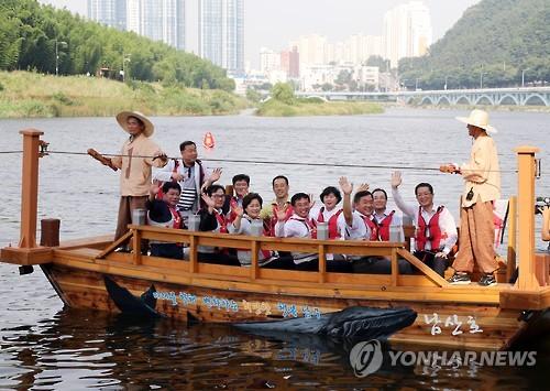 [울산소식] 태화강나룻배 6월부터 2시간 연장 운항