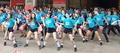 K-pop flash mob for Olympics countdown