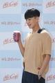Actor promotes McCafe drinks