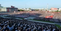 North Koreans rally to uphold state goals