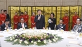 PM meets bizmen in China