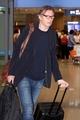 Actor Liam Neeson 'lands' in Incheon