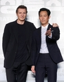 Hollywood actor Liam Neeson and Lee Jung-jae