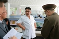 N. Korean leader inspects architectural institute