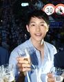 S. Korean actor Song Joong-ki attends beer fete