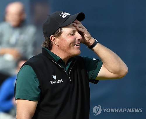 PGA 투어 쇼트게임 일인자는 미컬슨…선수들 설문조사