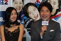S. Korean actor Oh Dal-soo and actress Soo Ae
