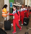 N. Korean Olympic delegation arrives in Rio