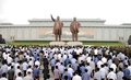 N. Koreans pay tribute on Liberation Day