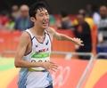 S. Korean marathoner Son Myeong-jun