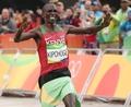 Kenyan wins marathon gold