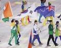 S. Korean flag bearer Kim Hyeon-woo