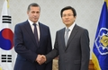 S. Korean PM meets Russian deputy PM