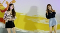 Girl group Davichi performs for Olympic squad