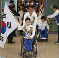 Paralympics delegation returns home