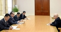 N.K. official meets British Labor Party member
