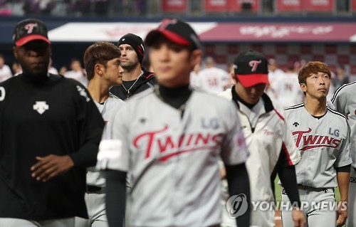 '병살타 1위·경기당 2∼3점' 숨죽인 타선, 고개 숙인 LG