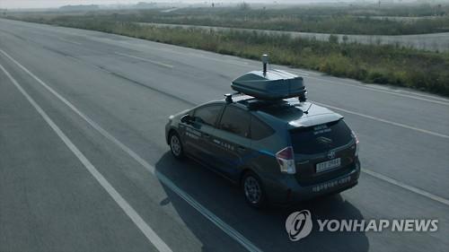 네이버 자율주행차 도로 달린다…IT업계 최초
