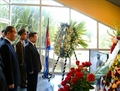 N.K. delegation pays respects to late Cuban leader