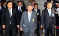 Le président du groupe Hyundai Motor au Parlement