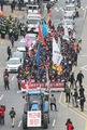 Tractor-led protest heading to Seoul
