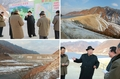 N.K.'s Kim visits power station