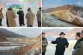 Kim Jong-un inspecte une centrale électrique
