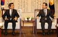 Le président par intérim et le président parlementaire
