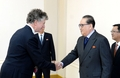 N.K. official meets conflict negotiator