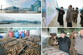 N.K.'s Kim visits military fish farm