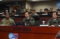 大統領代行 韓米連合軍司令部を訪問