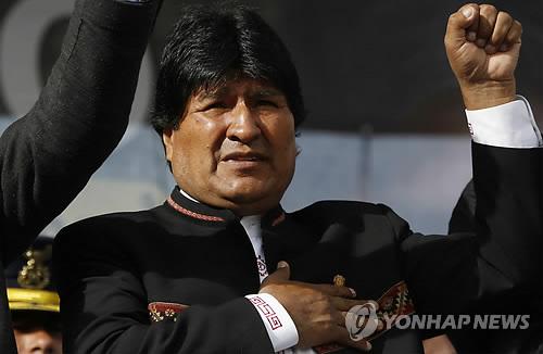 """[트럼프 취임] 볼리비아 대통령 """"美와 외교관계 복원 희망"""""""