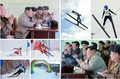 N.K. leader observes ski contest