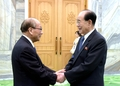 N.K. parliament leader meets Korean residents in Japan