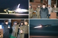 N.K.'s Kim observes night combat drill