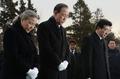 Ban Ki-moon au cimetière national