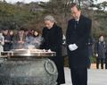 El ex secretario general de la ONU en Seúl
