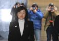 """특검 '블랙리스트 의혹' 조윤선 소환…""""진실 밝혀지길 기대"""""""