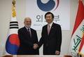 Chefs des diplomaties coréenne et irakienne