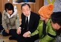 Avec des familles de disparus du Sewol