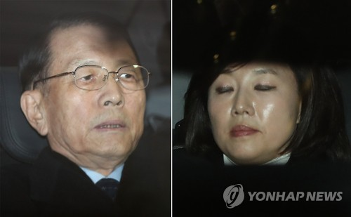 """특검 """"김기춘·조윤선 내일 특검 거쳐 법원으로 이동"""""""