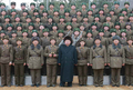 N.K. leader visits military unit for 1st time in new year