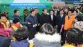시도지사협의회, 여수 수산시장 피해 상인 위로