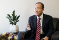 Entrevista con el ex secretario general de la ONU