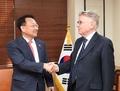 Le vice-PM de l'Economie et le secrétaire général du FVC