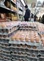 Cae el precio de los huevos