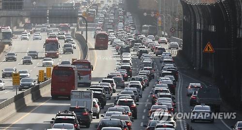 부산국토청 국도 33호선 일부 구간 추석연휴 임시개통