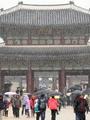 ソウルなどに雪
